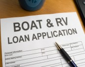 RV Loan Application