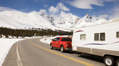 Travel Trailer with Sway Contorl