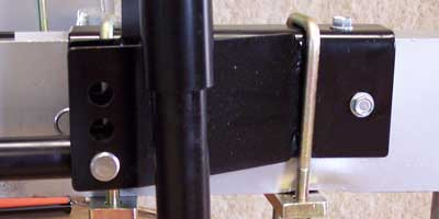 510 Hensley Hitch Standard Frame Brackets